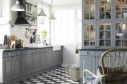 Фото 20 Серая кухня IKEA: популярные модели и дизайнерские варианты обустройства интерьера