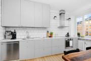 Фото 22 Серая кухня IKEA: популярные модели и дизайнерские варианты обустройства интерьера