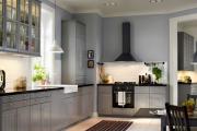 Фото 29 Серая кухня IKEA: популярные модели и дизайнерские варианты обустройства интерьера
