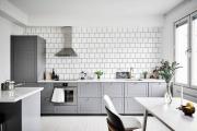 Фото 2 Серая кухня IKEA: популярные модели и дизайнерские варианты обустройства интерьера