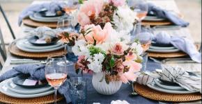 Сервировка праздничного стола: тонкости этикета и 115+ вариантов безукоризненного декора фото