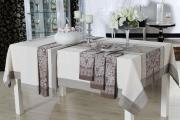 Фото 9 Практичная альтернатива классике и раннерам: 70 стильных силиконовых скатертей на стол