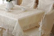 Фото 11 Практичная альтернатива классике и раннерам: 70 стильных силиконовых скатертей на стол