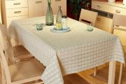 Фото 14 Практичная альтернатива классике и раннерам: 70 стильных силиконовых скатертей на стол