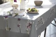 Фото 23 Практичная альтернатива классике и раннерам: 70 стильных силиконовых скатертей на стол