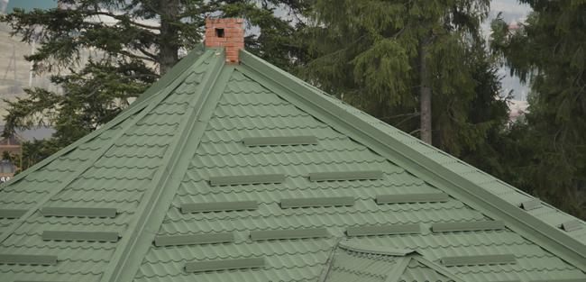 Установка уголкового снегостопора возможна на крыше, уклон которой не превышает 30 градусов