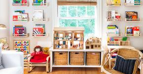 Стеллажи и ящики для хранения игрушек: 60 вместительных и удобных вариантов для вещей малыша фото