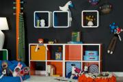 Фото 26 Стеллажи и ящики для хранения игрушек: 60 вместительных и удобных вариантов для вещей малыша