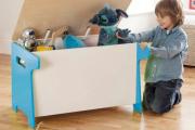 Фото 28 Стеллажи и ящики для хранения игрушек: 60 вместительных и удобных вариантов для вещей малыша