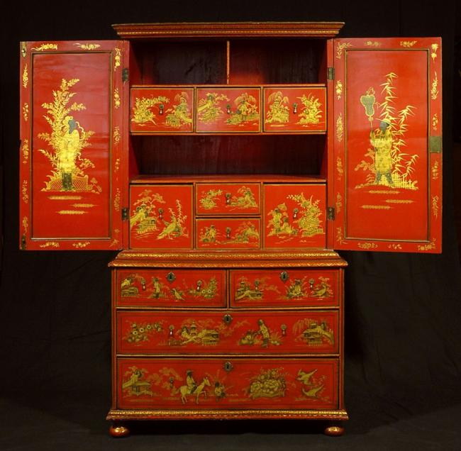 Расписная мебель 17 века