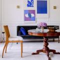 Круглый деревянный стол на одной ножке: 125+ моделей для тех, кто не привык выбирать между эстетикой и функциональностью фото
