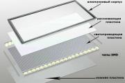 Фото 2 Полная иллюминация: что нужно знать о световых панелях на потолок? Конструкции, плюсы и минусы