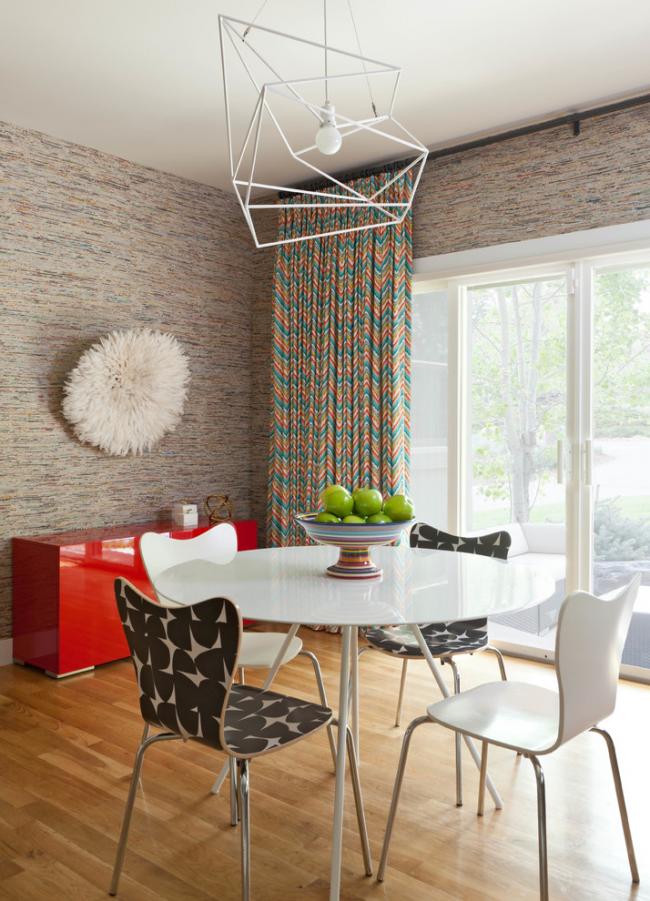 Тканевые обои для стен: 65 стильных винтажных идей