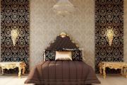 Фото 28 Тканевые обои для стен: все, что нужно для теплого и немного винтажного интерьера