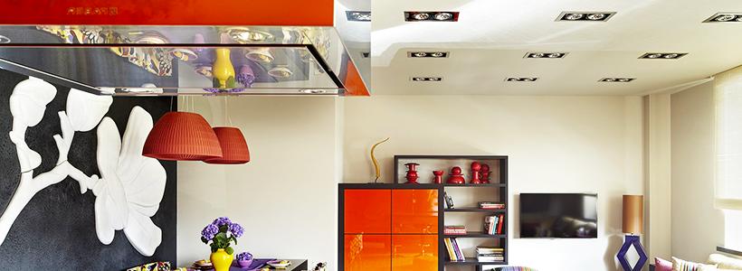 Точечные светодиодные светильники: все хитрости экономии и правильного освещения в квартире