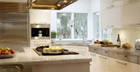 Угловая тумба под мойку на кухню: размеры, виды и 90+ вариантов удобного размещения фото