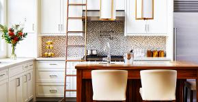 Угловые кухонные гарнитуры (90+ фотоидей): обзор стильных и современных решений для маленькой кухни (2019) фото