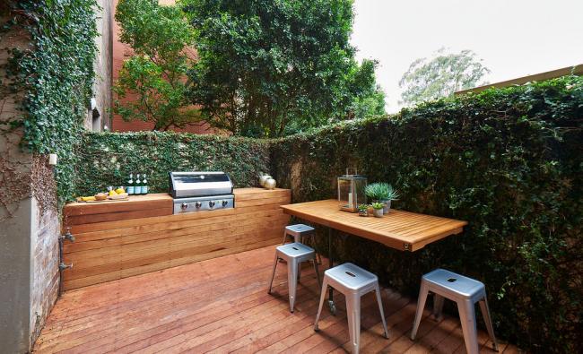 Обустраиваем идеальную зону барбекю на даче: варианты проектов и лучшие реализации