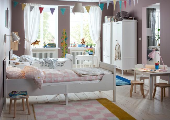 Уютная комната для двоих детей