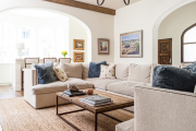 Фото 20 Под солнцем Тосканы: 60+ идей для роскошного интерьера гостиной в итальянском стиле