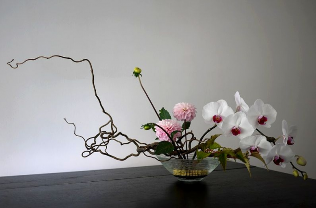 Красивая композиция в японском стиле