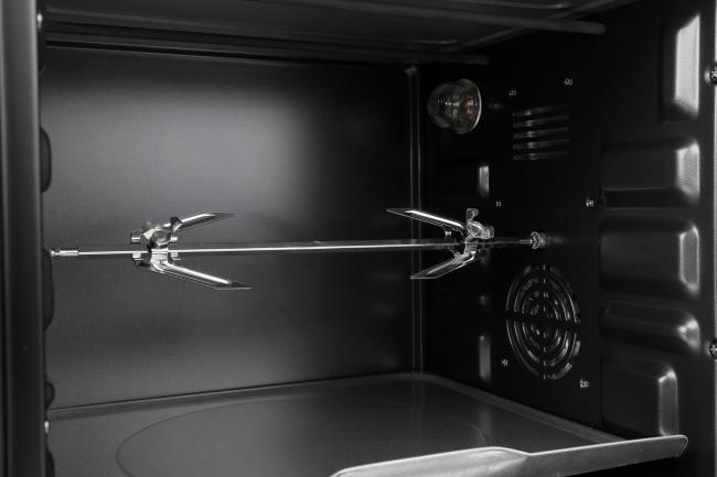Компактная электрический духовой шкаф с грилем и вентилятором