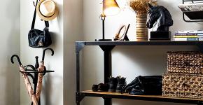 Выбор аристократа — кованые прихожие: 75+ стильных вешалок, обувниц и банкеток для элегантных интерьеров фото