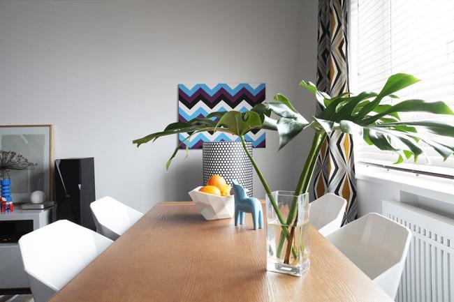 Скандинавский стиль наблюдается не только в мебели, но и в посуде