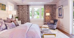Бело-фиолетовая спальня: советы дизайнеров по гармоничному сочетанию оттенков фото