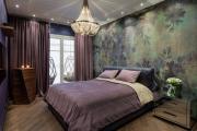 Фото 7 Бело-фиолетовая спальня: советы дизайнеров по гармоничному сочетанию оттенков