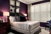 Фото 10 Бело-фиолетовая спальня: советы дизайнеров по гармоничному сочетанию оттенков