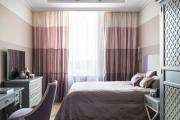Фото 14 Бело-фиолетовая спальня: советы дизайнеров по гармоничному сочетанию оттенков