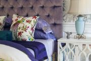 Фото 2 Бело-фиолетовая спальня: советы дизайнеров по гармоничному сочетанию оттенков