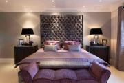 Фото 19 Бело-фиолетовая спальня: советы дизайнеров по гармоничному сочетанию оттенков
