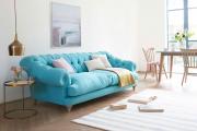 Фото 3 Бирюзовый диван в интерьере: 60+ фотоидей потрясающих вариантов мебели в цвете Тиффани