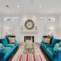 Мебель в стиле Тиффани: 60+ утонченных и элегантных интерьеров с бирюзовым диваном фото