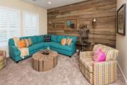 Фото 7 Бирюзовый диван в интерьере: 60+ фотоидей потрясающих вариантов мебели в цвете Тиффани