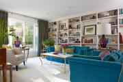 Фото 12 Бирюзовый диван в интерьере: 60+ фотоидей потрясающих вариантов мебели в цвете Тиффани