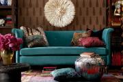 Фото 13 Бирюзовый диван в интерьере: 60+ фотоидей потрясающих вариантов мебели в цвете Тиффани