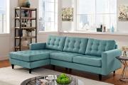 Фото 18 Бирюзовый диван в интерьере: 60+ фотоидей потрясающих вариантов мебели в цвете Тиффани