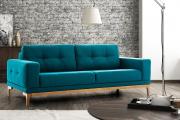 Фото 29 Бирюзовый диван в интерьере: 60+ фотоидей потрясающих вариантов мебели в цвете Тиффани