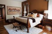 Фото 6 Шоколадное настроение: как стильно оформить спальню в коричневых тонах ?