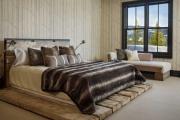 Фото 3 Шоколадное настроение: как стильно оформить спальню в коричневых тонах ?