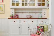 Фото 34 Буфеты для кухни: 100 уютных идей в стиле кантри, прованс и шебби-шик