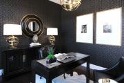 Фото 17 Тренд сезона — элегантный монохром (65 фото): подборка роскошных вариантов черных и темных обоев для интерьера