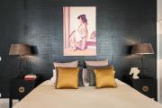 Фото 28 Тренд сезона — элегантный монохром (65 фото): подборка роскошных вариантов черных и темных обоев для интерьера