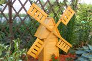 Фото 6 Декоративная мельница для сада своими руками: пошаговая инструкция, фото чертежей и мастер-классы