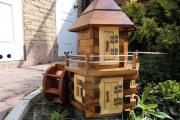 Фото 4 Декоративная мельница для сада своими руками: пошаговая инструкция, фото чертежей и мастер-классы