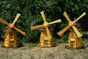 Фото 9 Декоративная мельница для сада своими руками: пошаговая инструкция, фото чертежей и мастер-классы