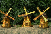 Фото 9 Сад без проблем: делаем декоративную мельницу своими руками